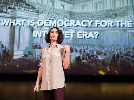 Talk: Pia Mancini reboots democracy